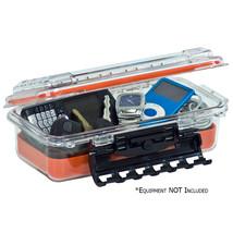 Plano Waterproof Polycarbonate Storage Box - 3500 Size - Orange/Clear  145000 - $28.99