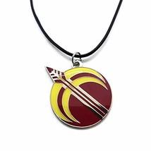 Damian Black RWBY Arkos Necklace Jaune X Pyrrha (Necklace with Leather C... - $24.09