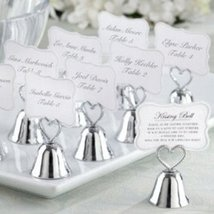 Kissing Bell Place Card/Photo Holder (Set of 48) - $85.31