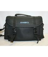 Ambico Camera / Camcorder Large Padded Bag ~ Shoulder Strap. Great Condi... - $15.83