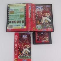 NFL Football '94 Starring Joe Montana (Sega Genesis, 1993)  complete - $4.89