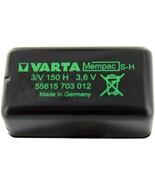 NIMH Battery, Button Cell, 3.6V, 150mAh 55615703012 - $23.30