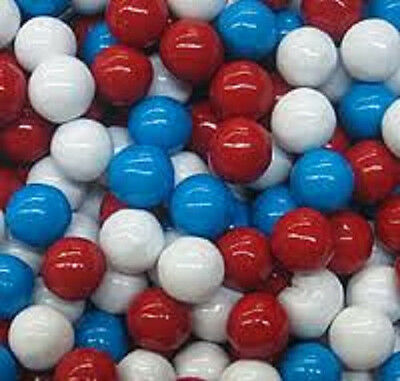 SIXLETS RED WHITE AND BLUE, 5LBS