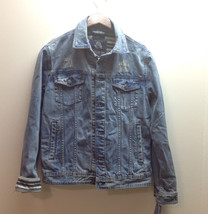 $120 American Rag Mens Denim Jacket, Boro Wash, Size S - $49.49
