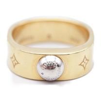 Louis Vuitton Berg nano-gram ring ring M00210 Monogram actual size 10 Auth - $555.86