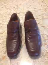 BALLYS MENS SHOES 7.5 marlon extra souple wing brown loaffer - $157.33