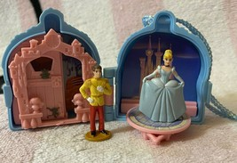 Vintage Mattel Walt Disney's Once Upon A Time Cinderella Locket Playset - $29.99
