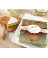 FavorOnline Tastefully Yours Heart-Shaped Bamboo Cheese Board, 48 - $178.97