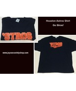 Houston Astros Baseball STROS B4 HOES Men's 4XL T-Shirt - $9.99