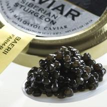 Italian Siberian Sturgeon (A. baerii) Caviar - Malossol - 4.4 oz tin - $347.29