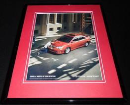 2007 Toyota Corolla Framed 11x14 ORIGINAL Vintage Advertisement - $34.64