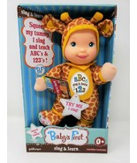 Goldberger Baby's First Sing & Learn ABC 123 Doll in a Giraffe Outfit - New - $21.99