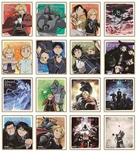 FULLMETAL ALCHEMIST visual colored paper collection BOX 1BOX 16 pieces :418 - $30.14