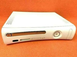 Console ONLY Microsoft Xbox 360 20GB Matte White TESTED Game System Gaming Used - $99.99