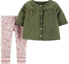 Carter's Baby Girls 2pcs Set, Size: 3M - $14.99