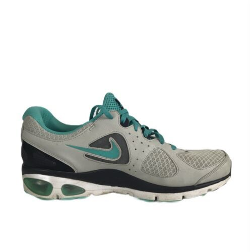 Nike Womens Air Max Turbulence 16 Size 10 Grey Turquoise Running Shoe Sneaker - $33.71
