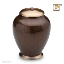 Simplicity Bronze Large Pet Funeral Cremation Urn,  105 Cubic Inches - $103.50