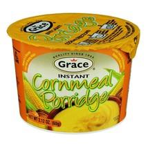 Grace Instant Cornmeal, Oat & Green Banana Porridge 60g each - $16.83