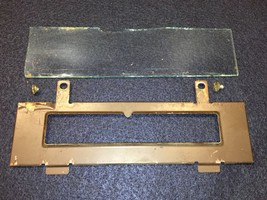 National Cash Register Vintage Parts Class 21 Front Display Glass And Mo... - $18.66