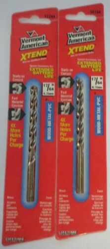 "Primary image for Vermont American 12744 17/64"" XTEND Fractional Drill Bit 2 PCS"