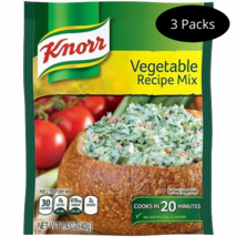 Knorr Vegetable Recipe Mix Pack of 3 Best by 10/2020 - $10.95