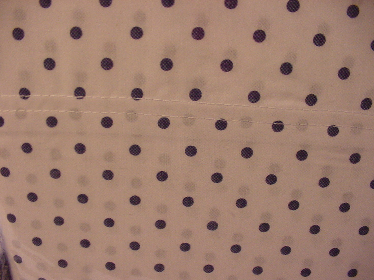 Tommy Hilfiger Navy Polka Dots on White Sheet Set Twin