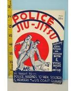 1937 Police Jiu-Jitsu Taught to Police, Marines, G-Men & Soldiers Louis ... - $34.65