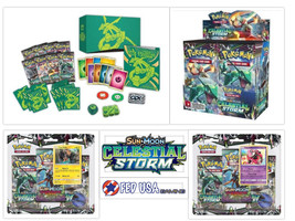 Pokemon Celestial Storm ULTIMATE TRAINER KIT Booster Box + Elite + 2 Bli... - $164.99