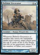 Magic the Gathering Card- Halimar Excavator - $1.00