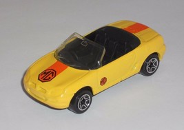 Matchbox 1 Loose Vehicle MGF 1.8i Yellow - $4.00