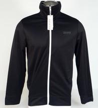 Perry Ellis America Black Zip Front Signature Track Jacket Men's NWT - $59.99
