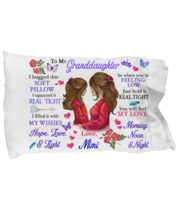 To My Granddaughter Pillowcase Gift From Mimi Pillow case Covering For  - $23.99