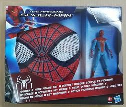 Hasbro The Amazing Spiderman Mask and Hero Figure Set - $19.98