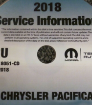 2018 CHRYSLER PACIFICA Service INFORMATION Shop Repair Manual CD NEW - $197.99