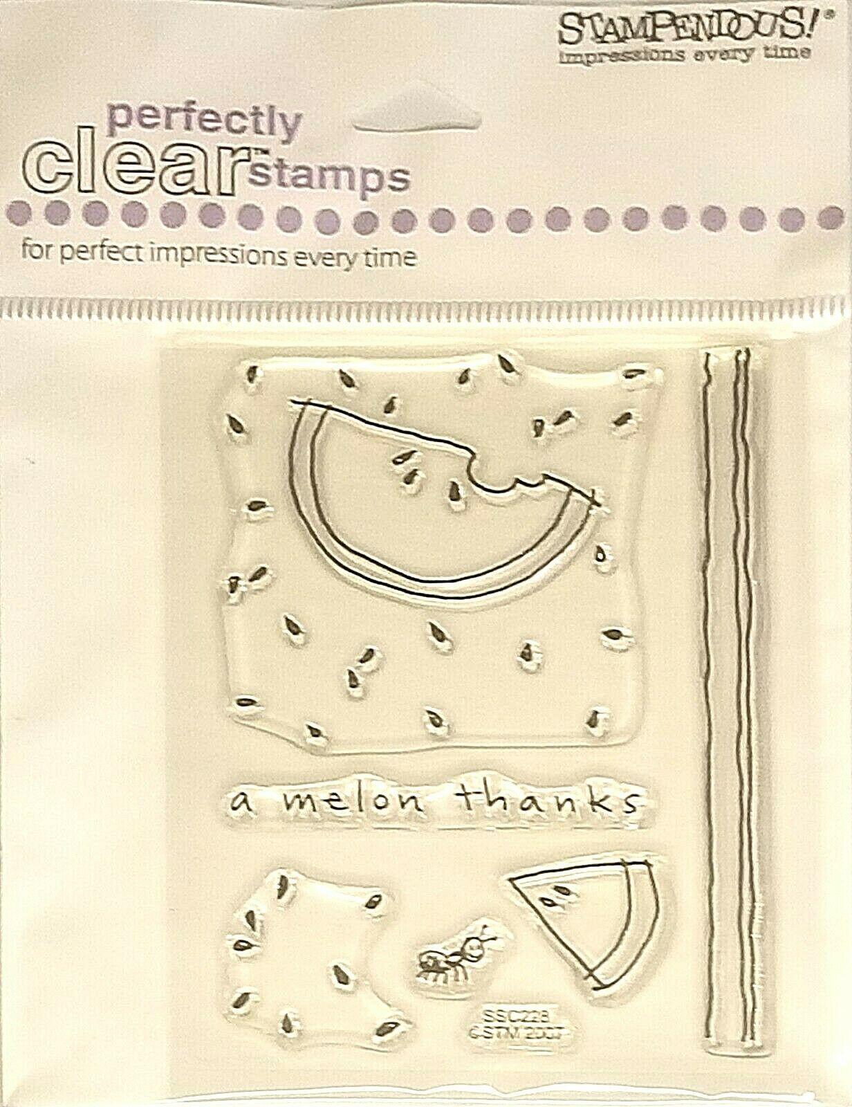 Stampendous Cutie Watermelon Stamp Set # SSC228