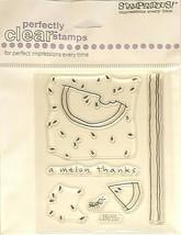 Stampendous Cutie Watermelon Clear Stamp Set #SSC228 - $4.99