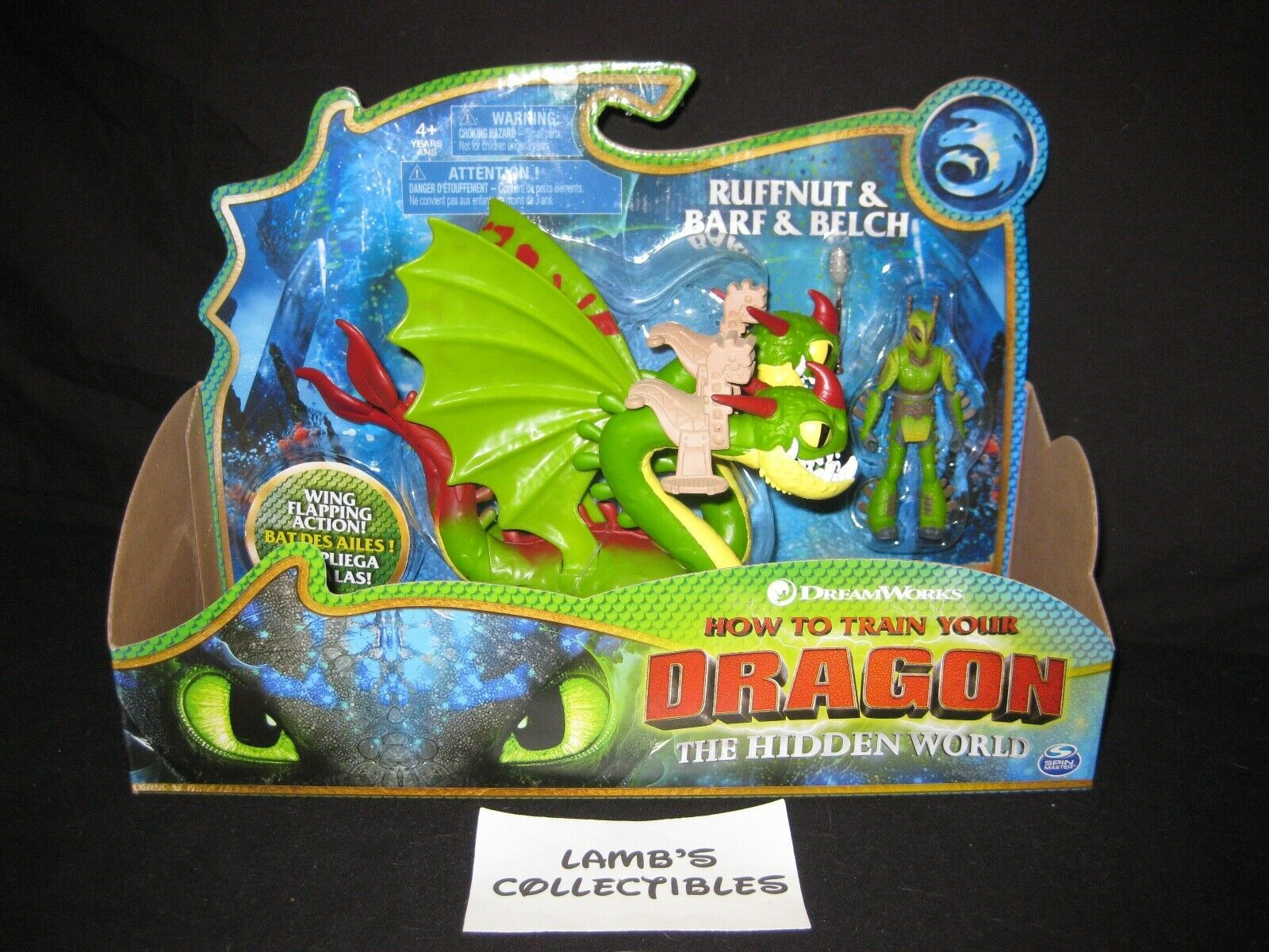 Primary image for How to train your Dragon 3 The Hidden World Ruffnut & Barf & Belch riding saddle