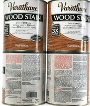 2 Ct Varathane  Ultimate Wood Stain One Coat 266175 Paprika Dry In 1 Hou... - $55.99