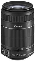 kb10 Canon EFS 55-250mm f4.0-5.6 IS II Telephoto Zoom Lens for Canon Dig... - $222.34