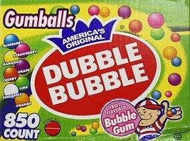 "Dubble Bubble-Gumballs 1"" in Diameter Variety Pack, 850 Gumballs - $44.19"