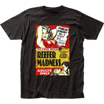 Reefer Madness Poster T Shirt Mens Licensed Pop Culture Movie Weed Pot T... - $17.99+