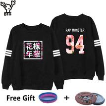 BTS Sweatshirt Women Korean Idol Team Fans Casual Capless Women Hoodies Pullover image 4