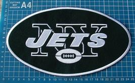 "NEW YORK JETS FOOTBALL NFL SUPERBOWL 10"" HUGE JERSEY PATCH EMBROIDERED - $20.00"