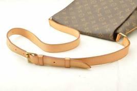LOUIS VUITTON Monogram Musette Shoulder Bag M51256 LV Auth 10485 image 6