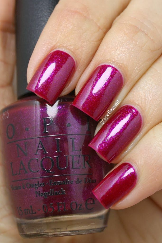 Primary image for OPI Universe CONGENIALITY IS MY MIDDLE NAME Berry Pink Shimmer Nail Polish U01