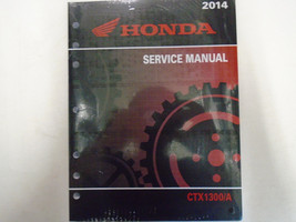 2014 HONDA CTX1300/A Service Repair Shop Workshop Manual Factory OEM NEW - $197.99