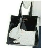 Ted Baker London Alya Bulldog Large Icon Tote Bag Black  NEW WITH TAGS