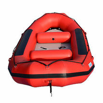 BRIS 13ft Inflatable River Raft 6 Person White Water Rescue Raft FloatingTubes image 5
