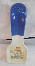 """OTAGIRI SPOON REST HOLDER KITTENS CATS FLOWERS CALICO 9 3/4"""" JAPAN VINTA... - $29.44"""