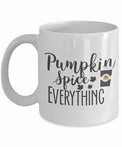 An item in the Pottery & Glass category: Halloween Mug Pumpkin Spice Coffee Cup Novelty Gift for Classroom Teacher